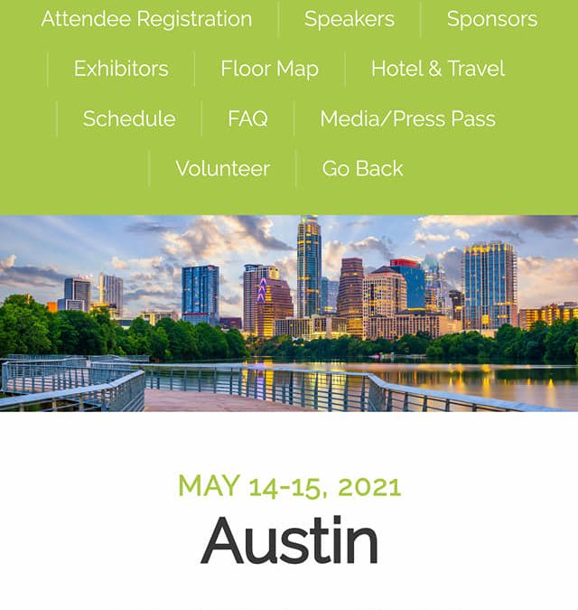 Speaking at ALL Texas Lucky Leaf Expo Conferences for 2021