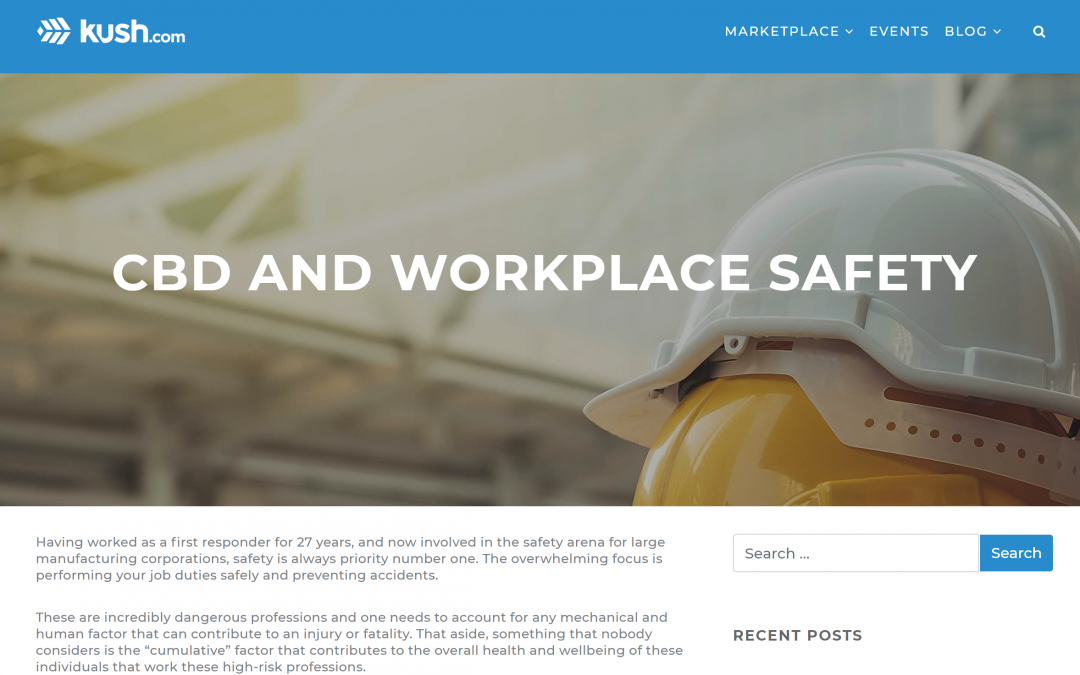 CBD and Workplace Safety