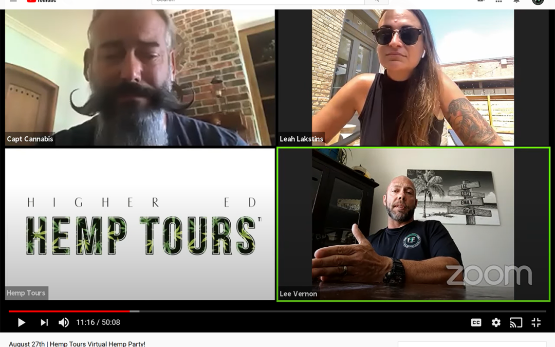 Higher Ed. Hemp Tours Podcast with First Responder Fuel 1/7/2021