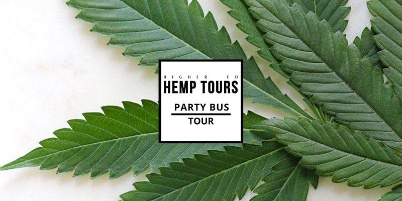 Higher Ed Hemp Tours Party Bus