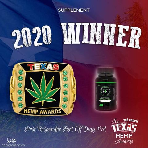 And we have a winner for the 2020 Texas Hemp Awards!